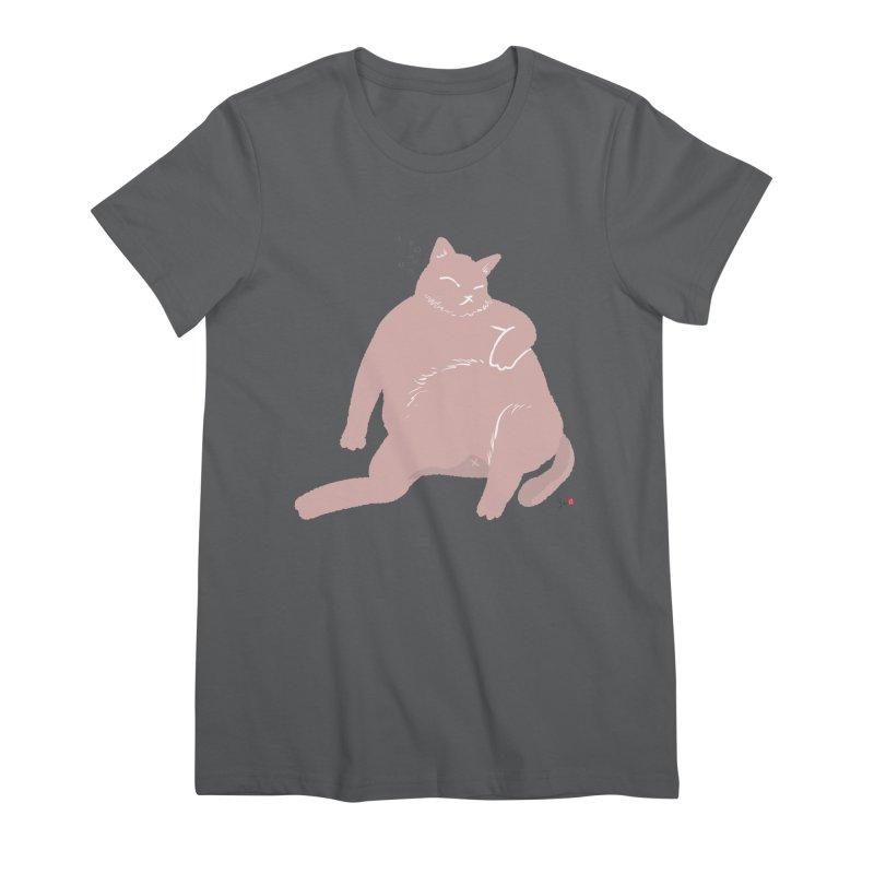 Fat Cat Women's T-Shirt by Designs by Billy Wan