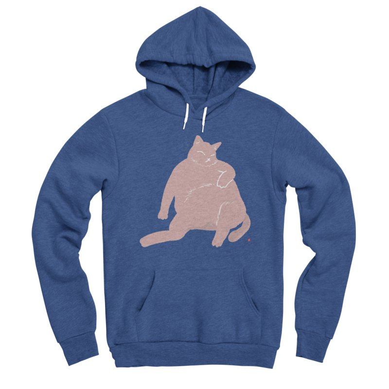 Fat Cat Women's Pullover Hoody by Designs by Billy Wan