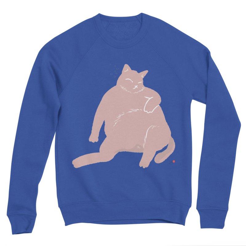 Fat Cat Men's Sweatshirt by Designs by Billy Wan