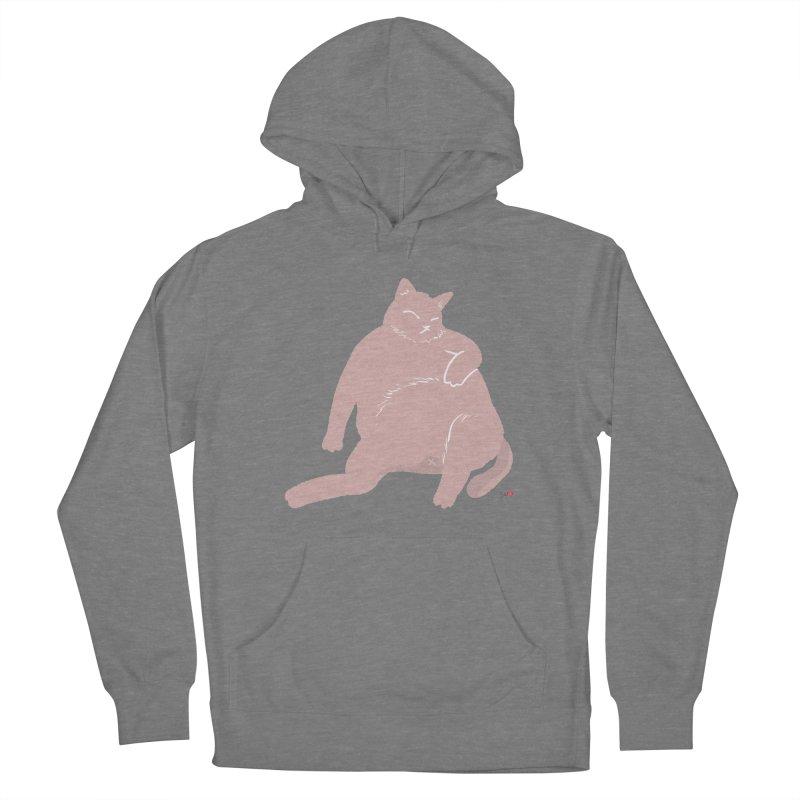 Fat Cat Women's Pullover Hoody by Designs by Billy Wan