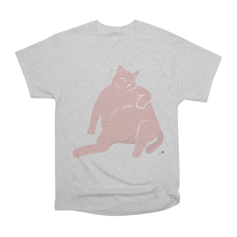 Fat Cat Women's Heavyweight Unisex T-Shirt by Designs by Billy Wan
