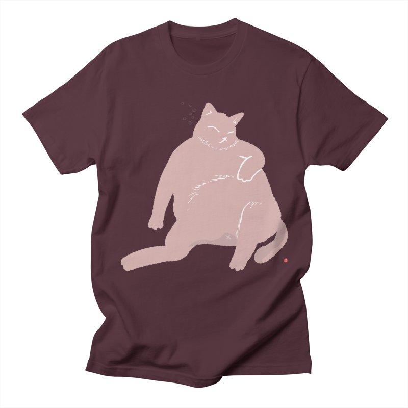 Fat Cat Women's Regular Unisex T-Shirt by Designs by Billy Wan
