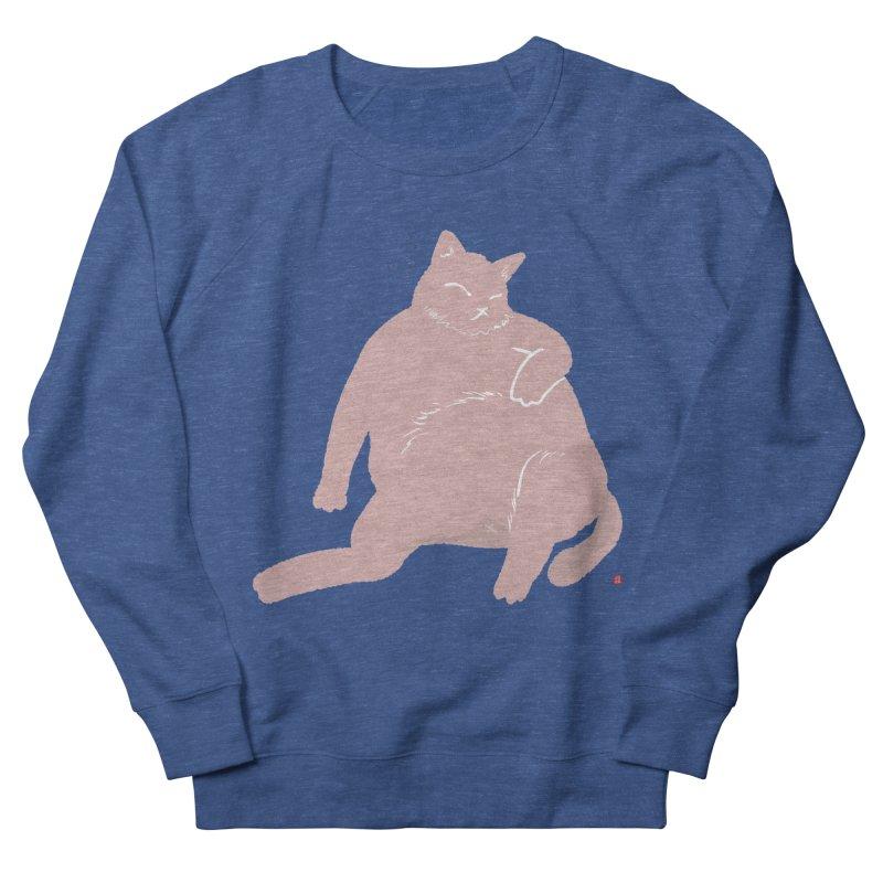 Fat Cat Women's French Terry Sweatshirt by Designs by Billy Wan