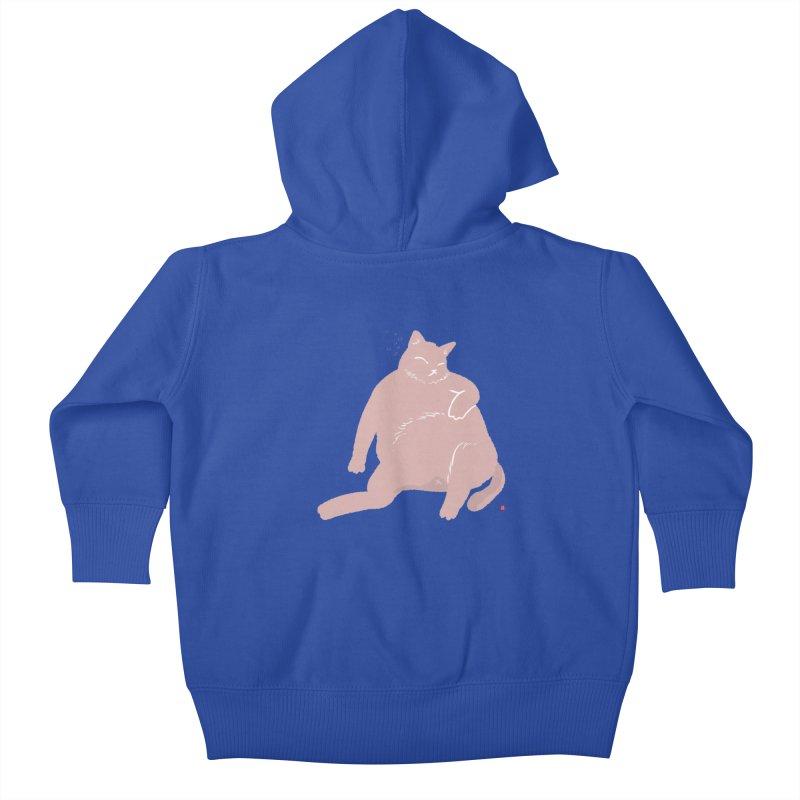 Fat Cat Kids Baby Zip-Up Hoody by Designs by Billy Wan