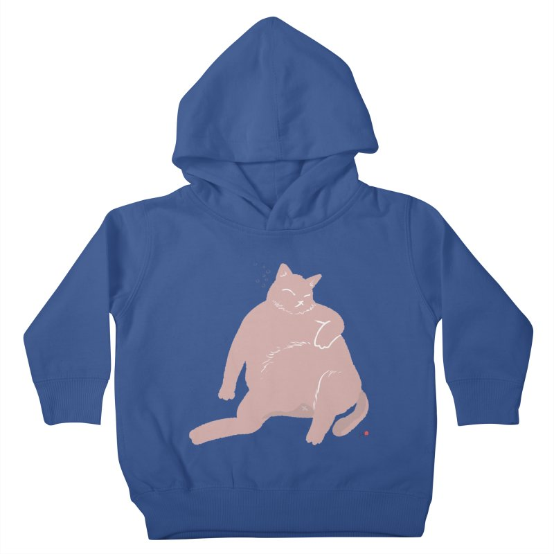 Fat Cat Kids Toddler Pullover Hoody by Designs by Billy Wan