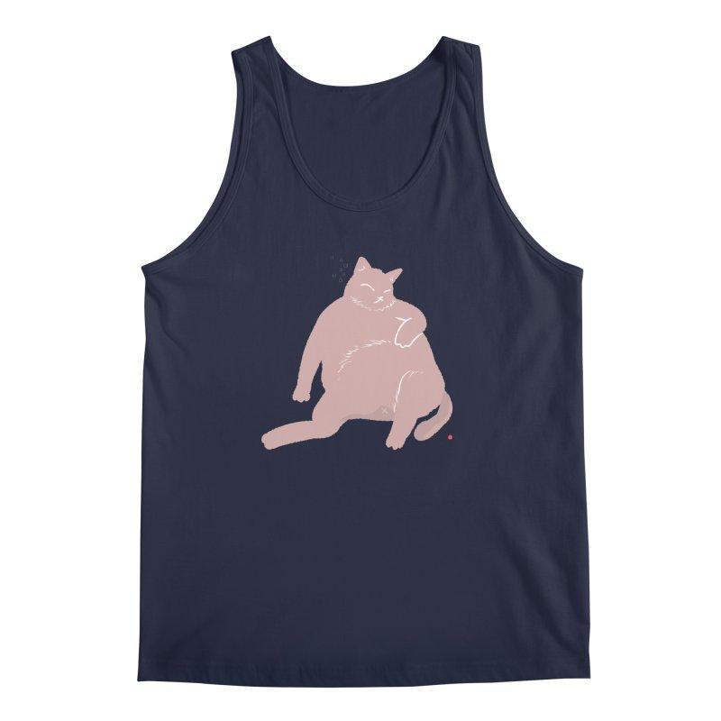 Fat Cat Men's Regular Tank by Designs by Billy Wan