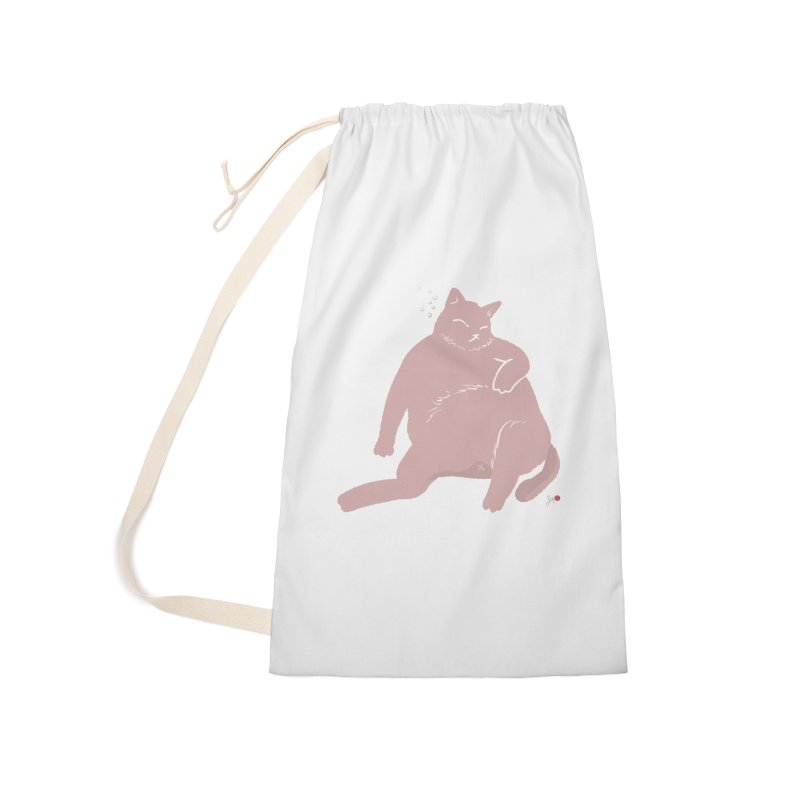Fat Cat Accessories Laundry Bag Bag by Designs by Billy Wan