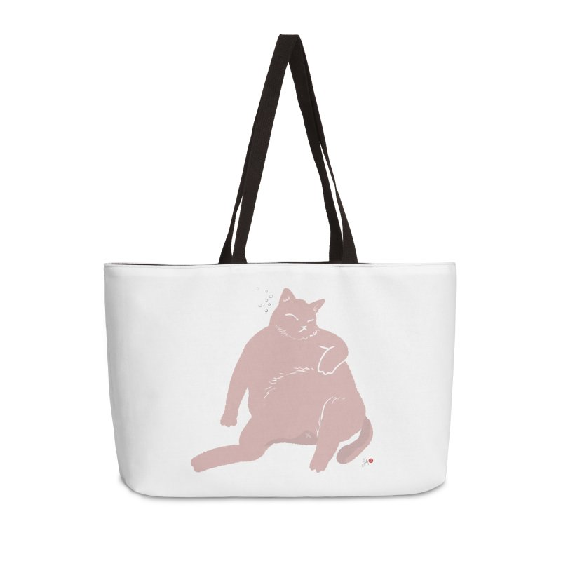 Fat Cat Accessories Weekender Bag Bag by Designs by Billy Wan