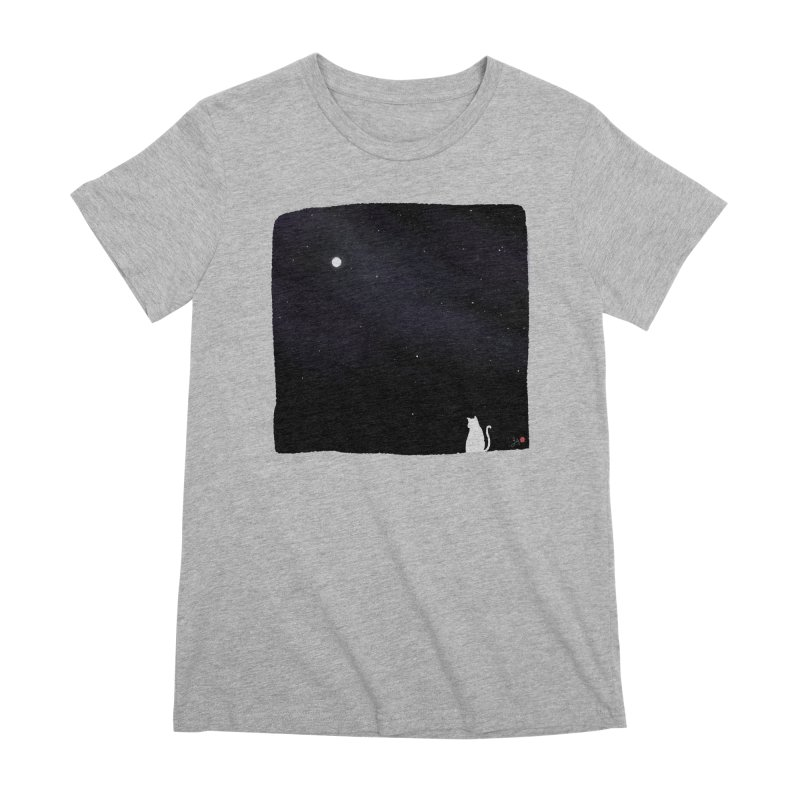 Star in the Night Sky Women's Premium T-Shirt by Designs by Billy Wan