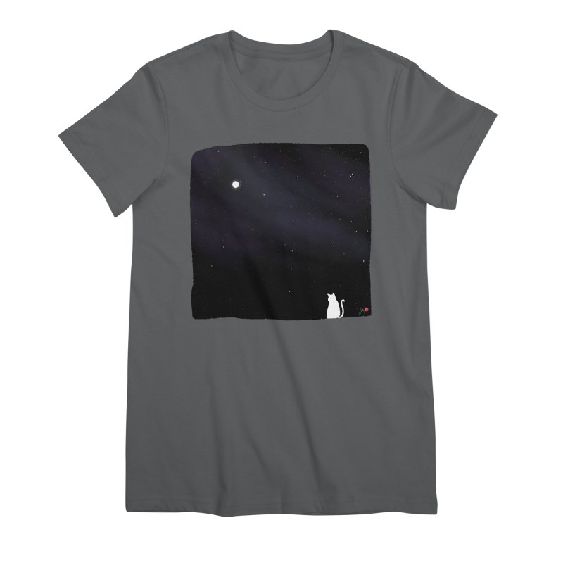 Star in the Night Sky Women's T-Shirt by Designs by Billy Wan