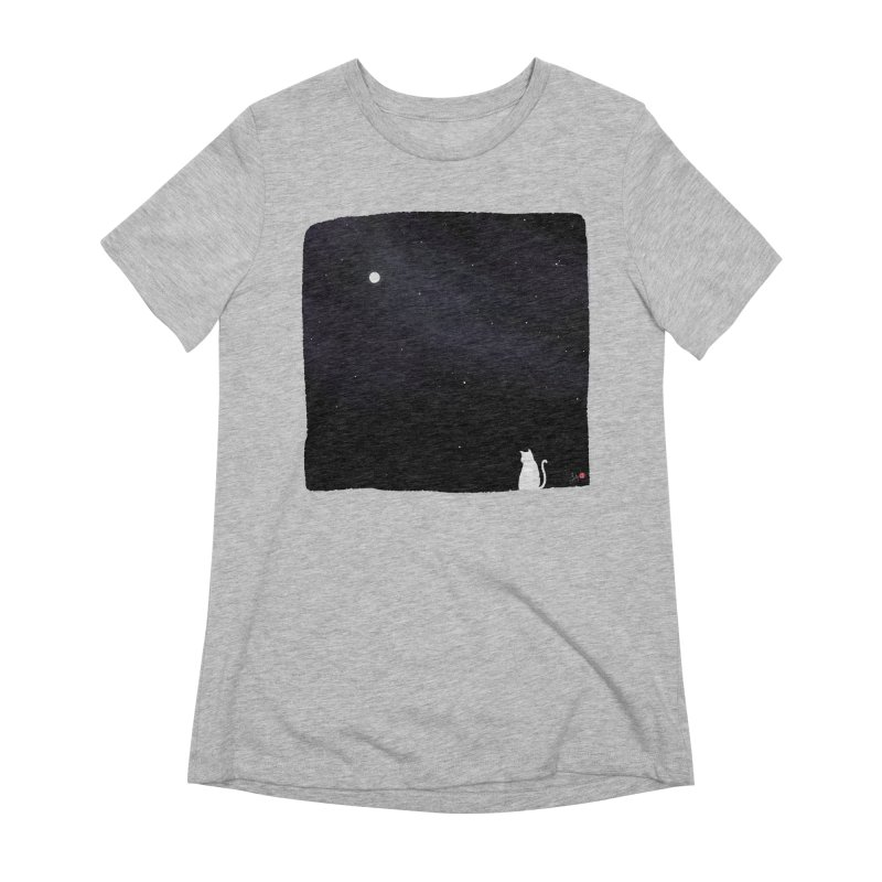 Star in the Night Sky Women's Extra Soft T-Shirt by Designs by Billy Wan