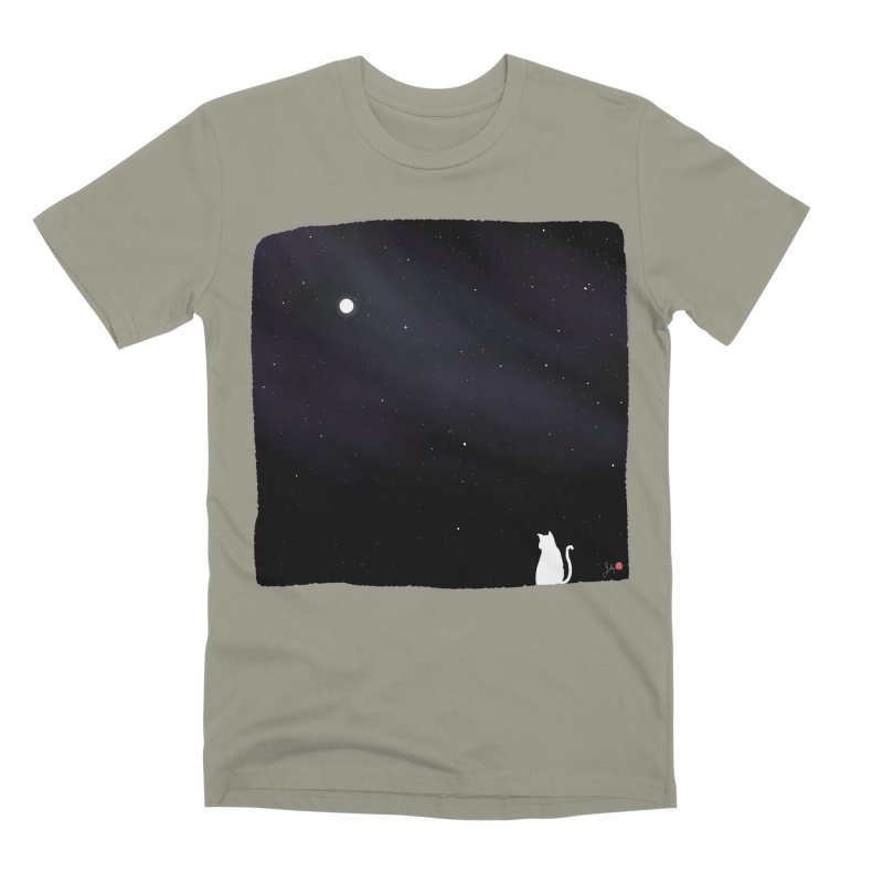Star in the Night Sky Men's Premium T-Shirt by Designs by Billy Wan