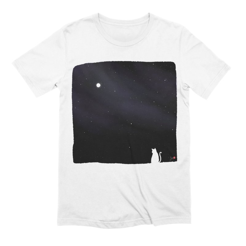 Star in the Night Sky Men's Extra Soft T-Shirt by Designs by Billy Wan