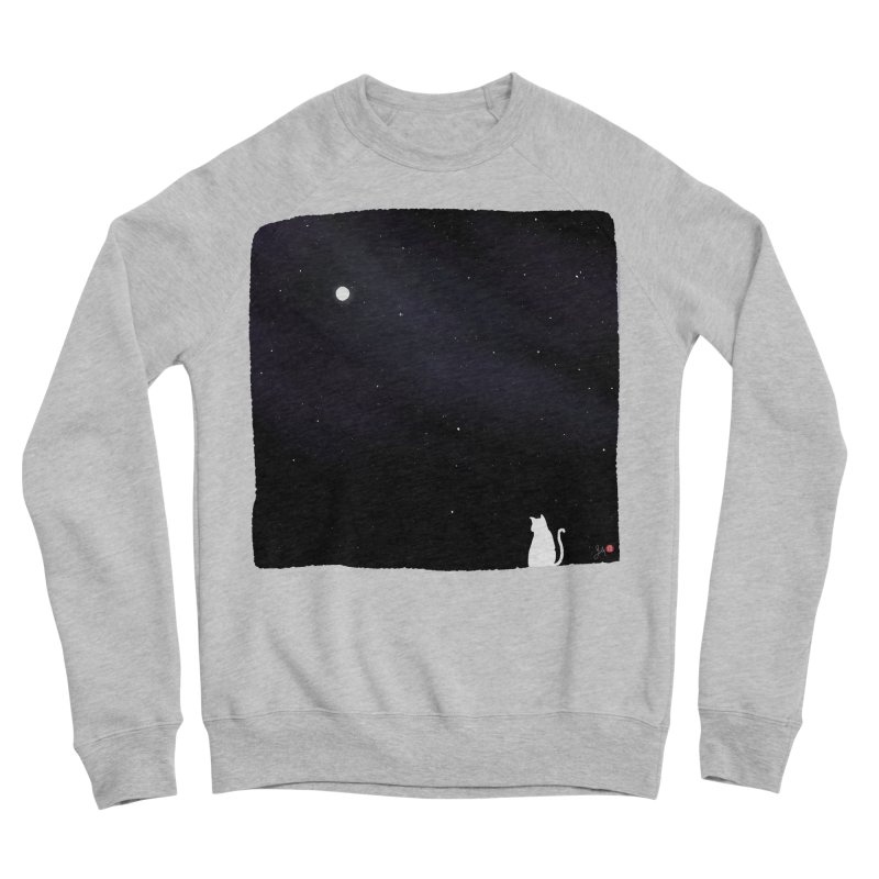 Star in the Night Sky Women's Sponge Fleece Sweatshirt by Designs by Billy Wan