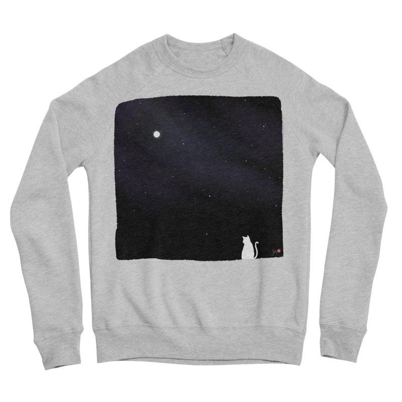 Star in the Night Sky Men's Sponge Fleece Sweatshirt by Designs by Billy Wan