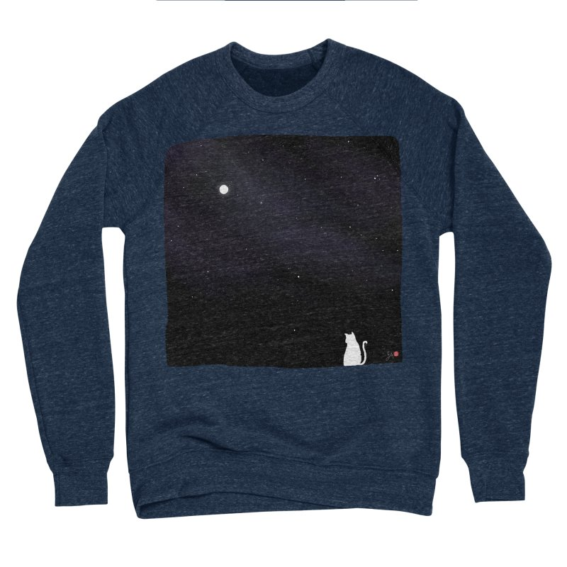 Star in the Night Sky Men's Sponge Fleece Sweatshirt by Designs by Billy Wan