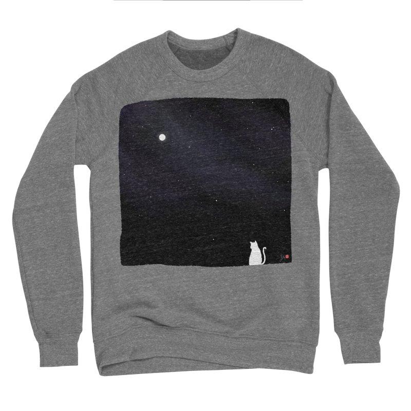 Star in the Night Sky Women's Sponge Fleece Sweatshirt by Designs by Billy Wan
