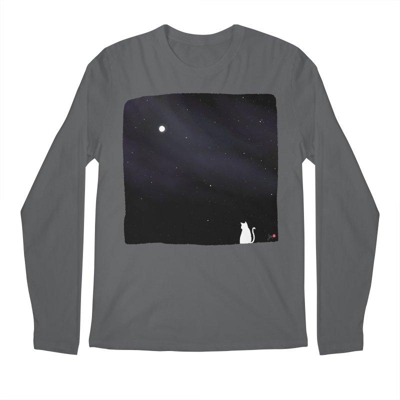 Star in the Night Sky Men's Longsleeve T-Shirt by Designs by Billy Wan