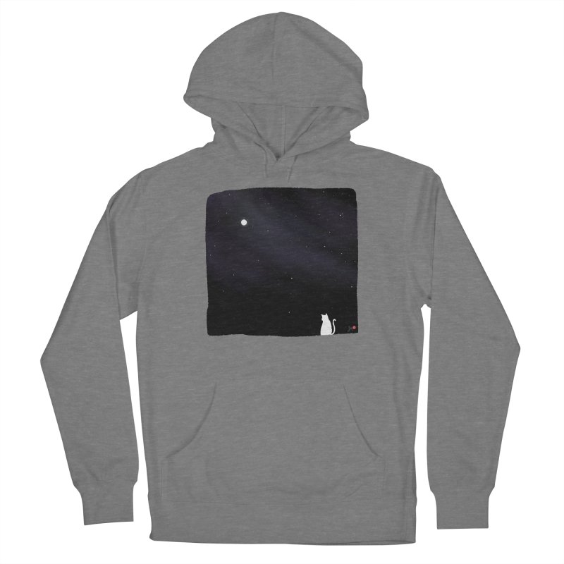 Star in the Night Sky Women's Pullover Hoody by Designs by Billy Wan