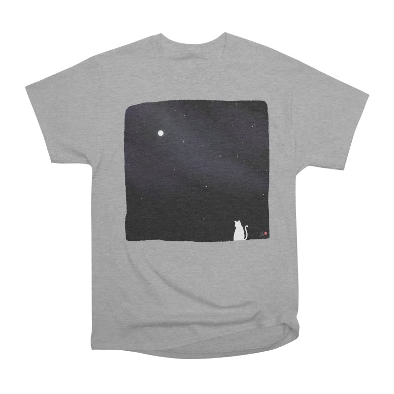 Star in the Night Sky Men's Heavyweight T-Shirt by Designs by Billy Wan