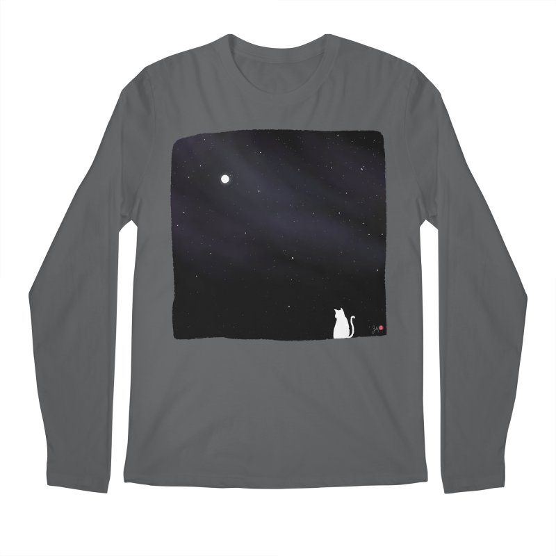 Star in the Night Sky Men's Longsleeve T-Shirt by Designs by Billy Wan
