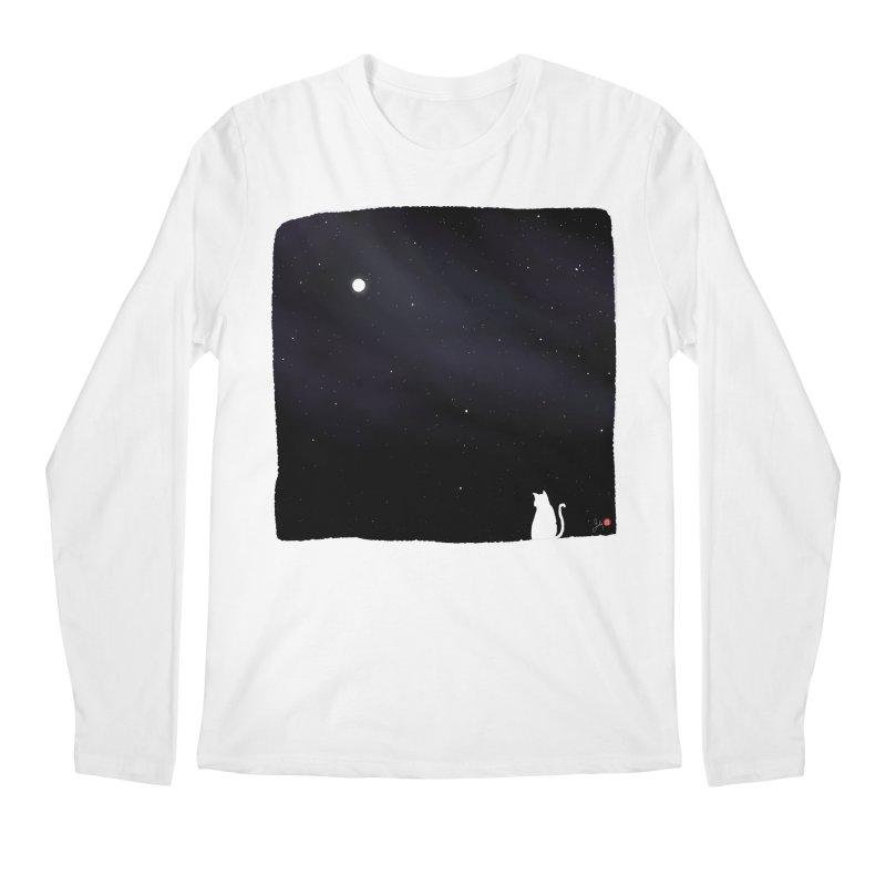 Star in the Night Sky Men's Regular Longsleeve T-Shirt by Designs by Billy Wan