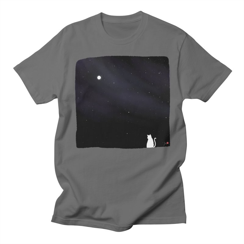 Star in the Night Sky Men's T-Shirt by Designs by Billy Wan