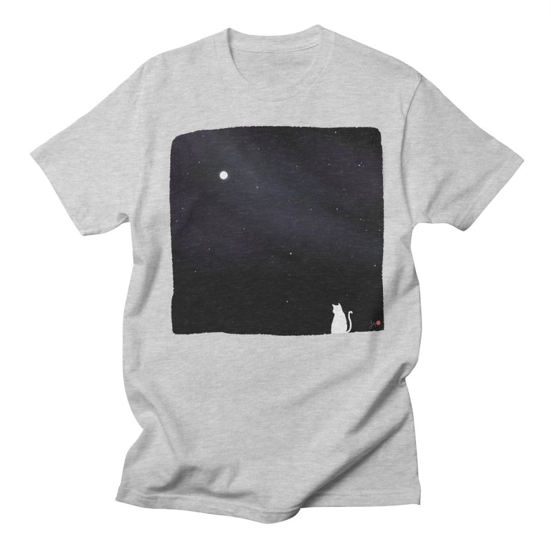 Star in the Night Sky Men's Regular T-Shirt by Designs by Billy Wan