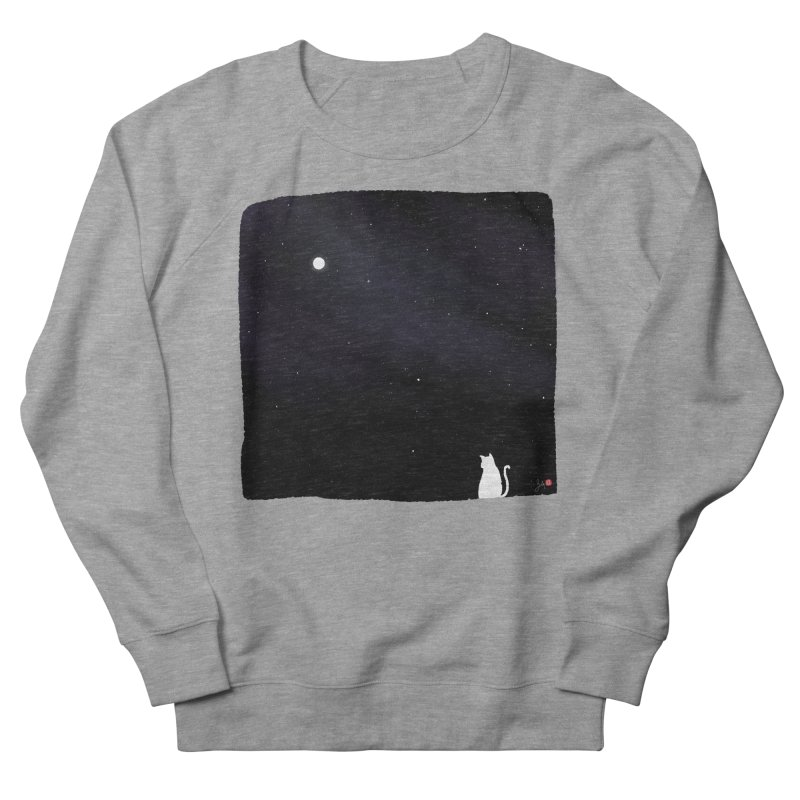 Star in the Night Sky Men's French Terry Sweatshirt by Designs by Billy Wan