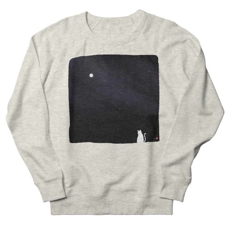 Star in the Night Sky Men's Sweatshirt by Designs by Billy Wan