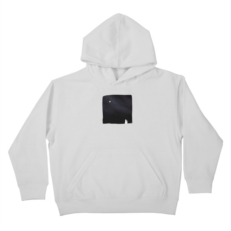 Star in the Night Sky Kids Pullover Hoody by Designs by Billy Wan