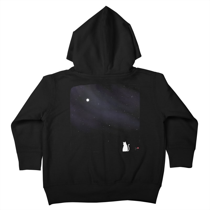 Star in the Night Sky Kids Toddler Zip-Up Hoody by Designs by Billy Wan