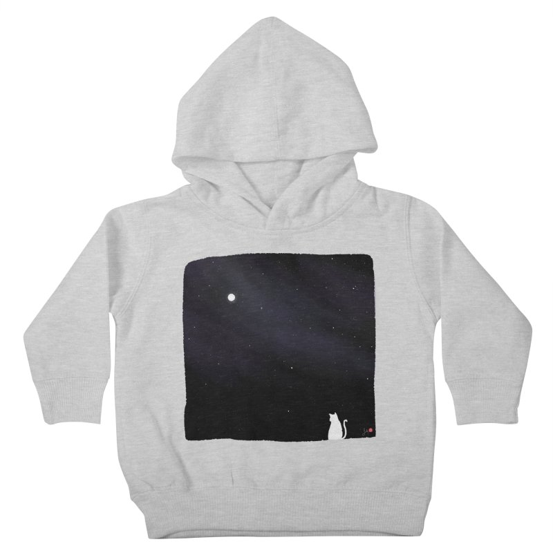 Star in the Night Sky Kids Toddler Pullover Hoody by Designs by Billy Wan