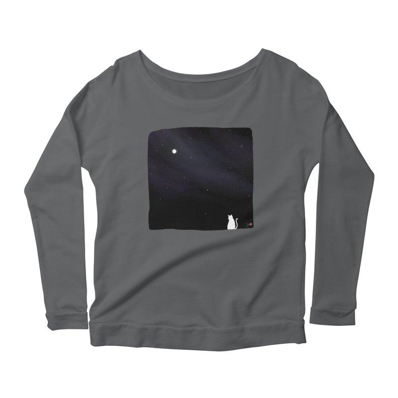 Star in the Night Sky Women's Longsleeve T-Shirt by Designs by Billy Wan