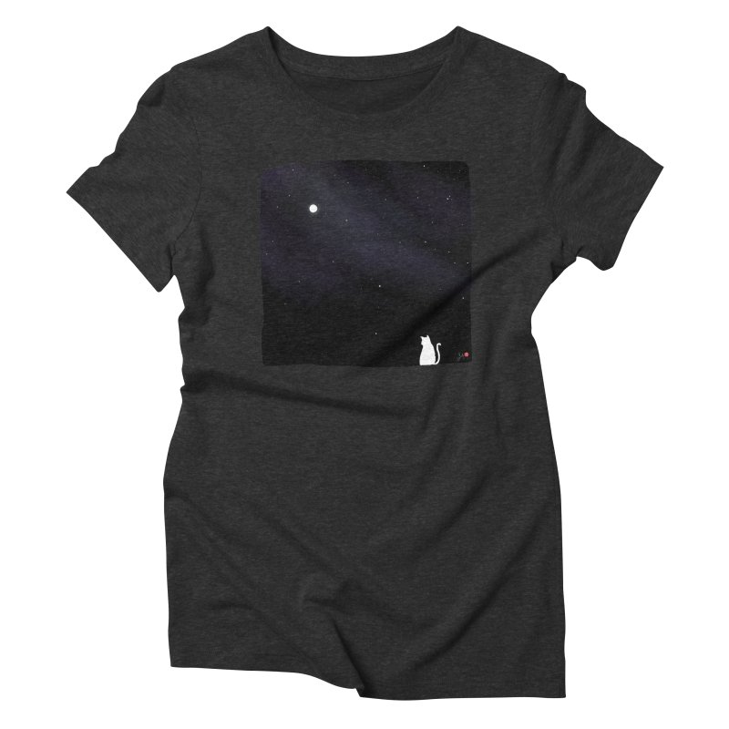 Star in the Night Sky Women's Triblend T-Shirt by Designs by Billy Wan