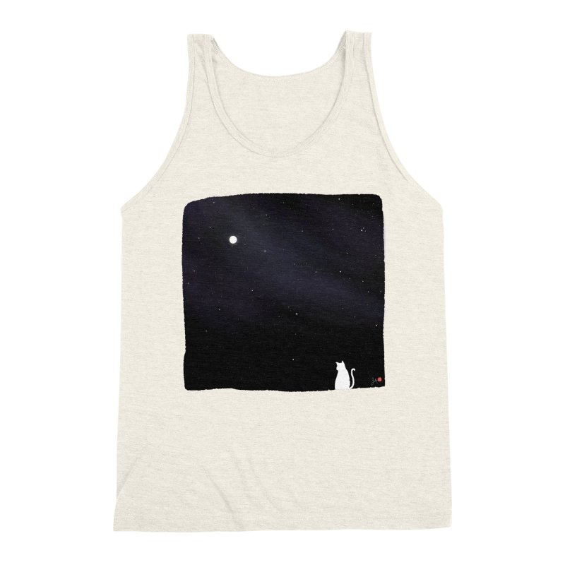Star in the Night Sky Men's Triblend Tank by Designs by Billy Wan