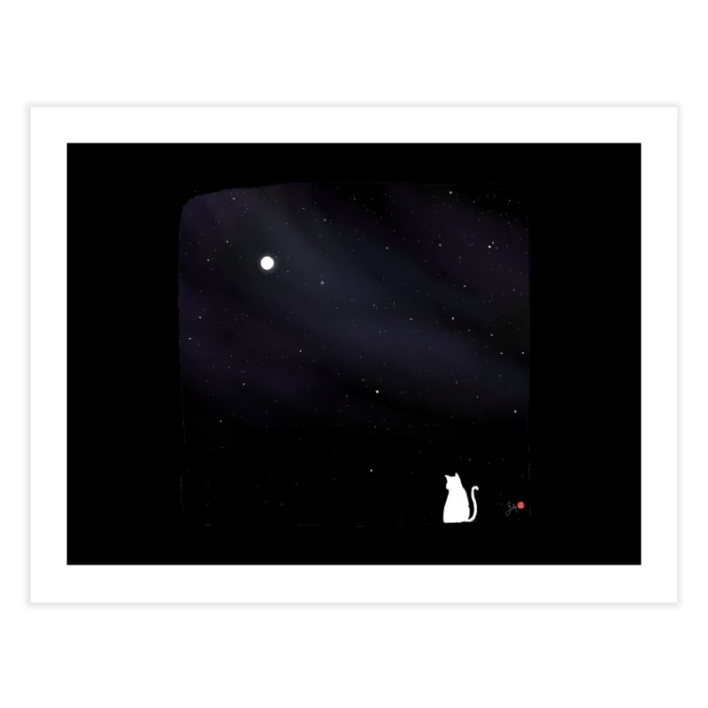 Star in the Night Sky Home Fine Art Print by Designs by Billy Wan