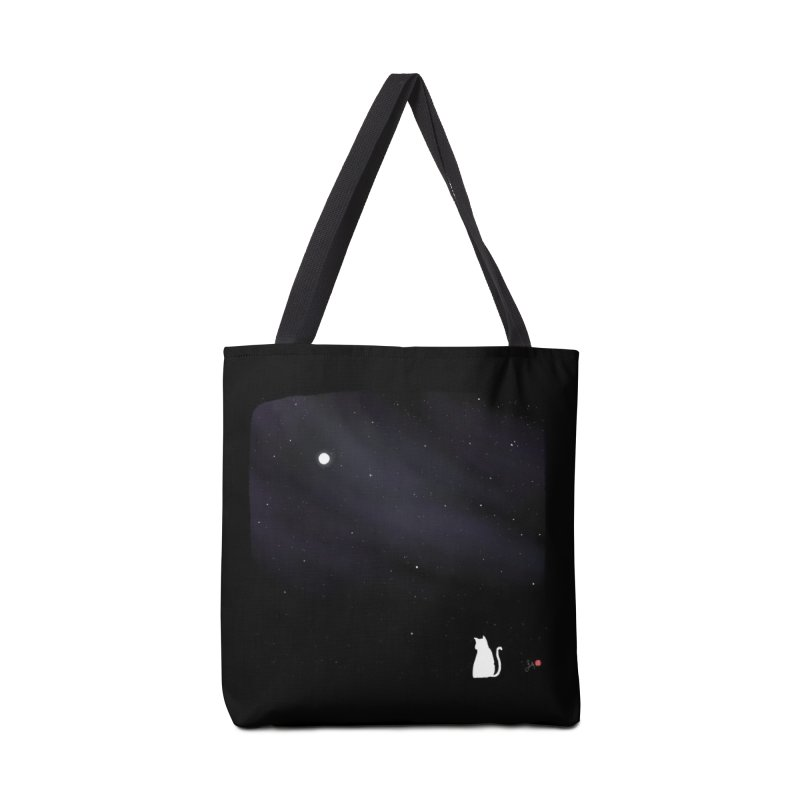 Star in the Night Sky Accessories Tote Bag Bag by Designs by Billy Wan