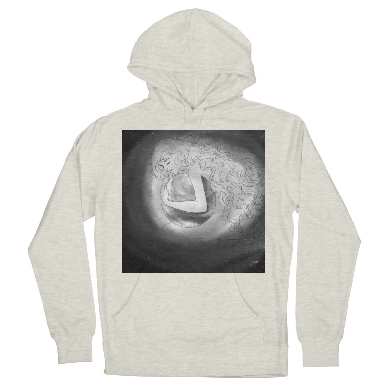 The World is Precious Women's French Terry Pullover Hoody by Designs by Billy Wan
