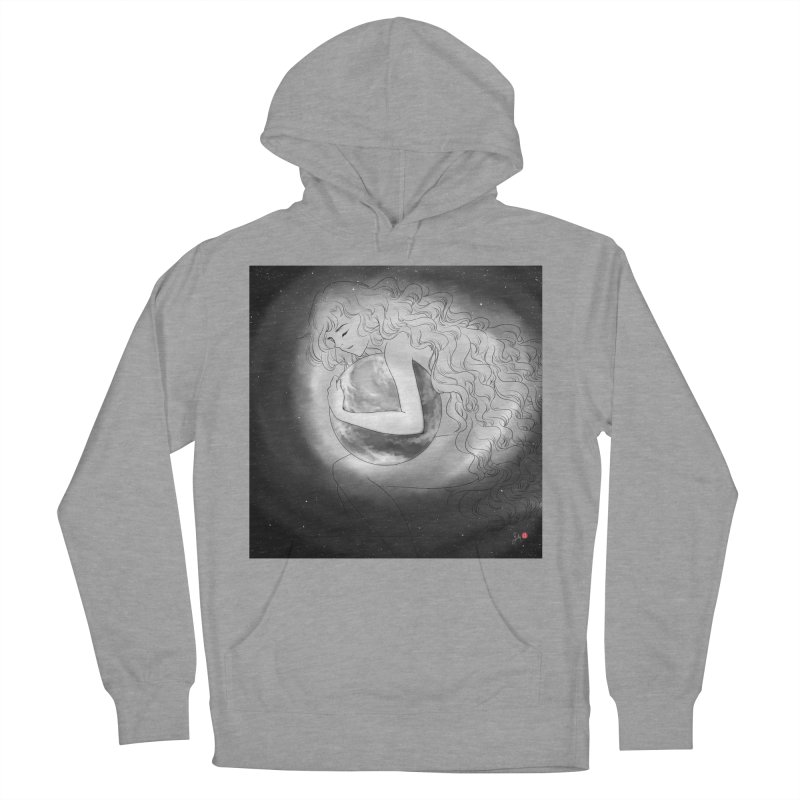 The World is Precious Men's French Terry Pullover Hoody by Designs by Billy Wan