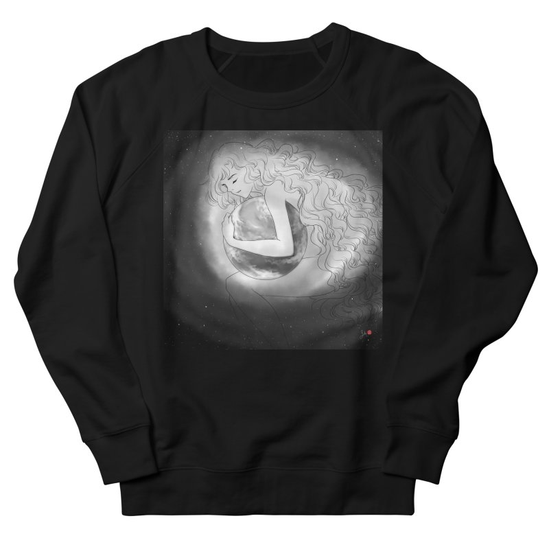 The World is Precious Men's French Terry Sweatshirt by Designs by Billy Wan
