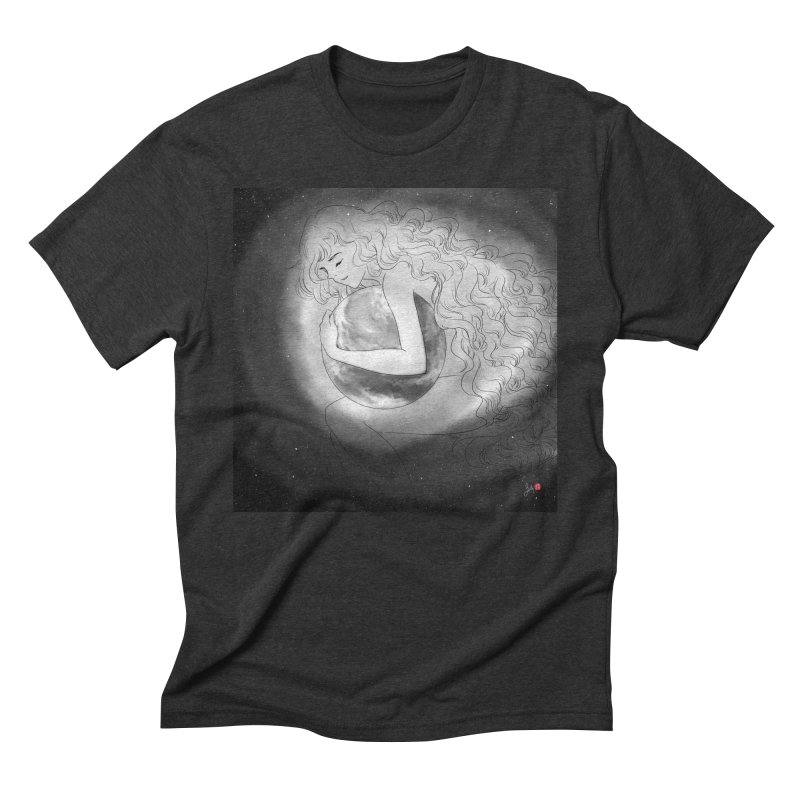 The World is Precious Men's Triblend T-Shirt by Designs by Billy Wan