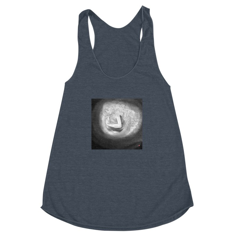 The World is Precious Women's Racerback Triblend Tank by Designs by Billy Wan