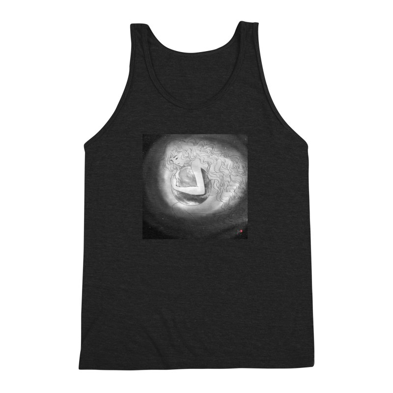The World is Precious Men's Triblend Tank by Designs by Billy Wan
