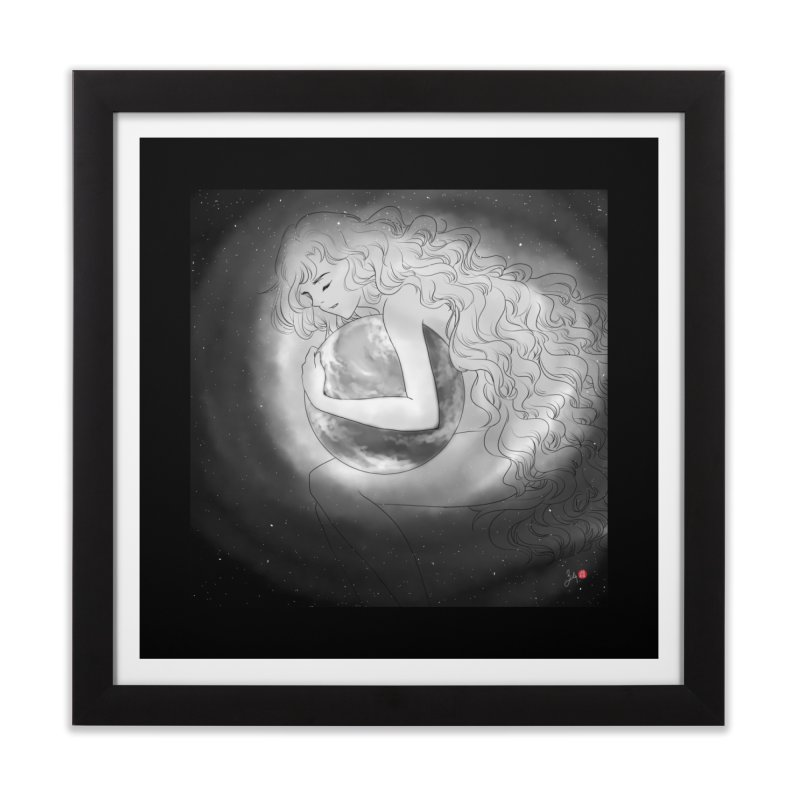 The World is Precious Home Framed Fine Art Print by Designs by Billy Wan