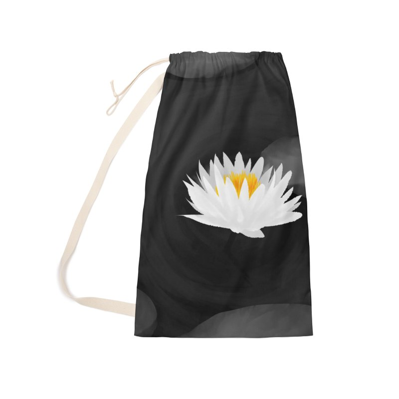 Lotus Accessories Laundry Bag Bag by Designs by Billy Wan