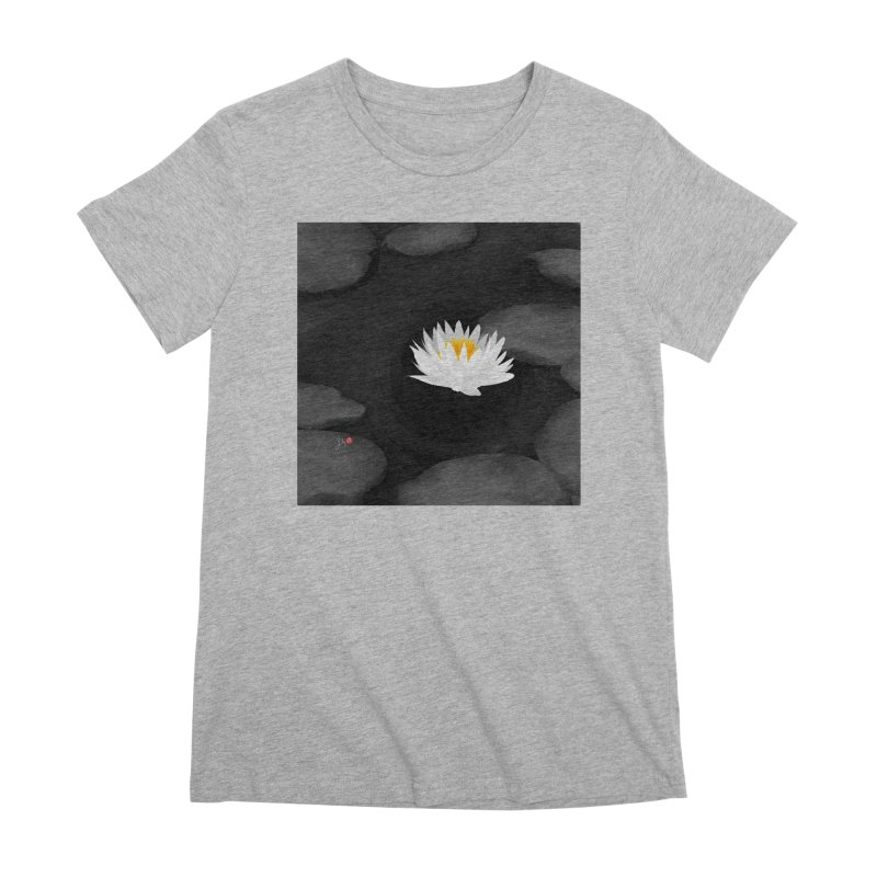 Lotus Women's Premium T-Shirt by Designs by Billy Wan