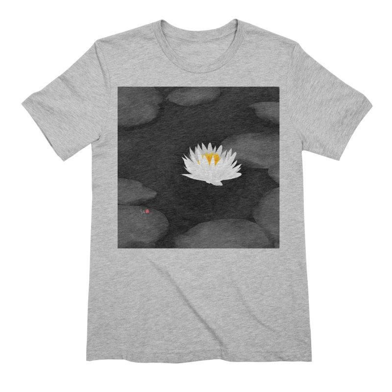 Lotus Men's Extra Soft T-Shirt by Designs by Billy Wan