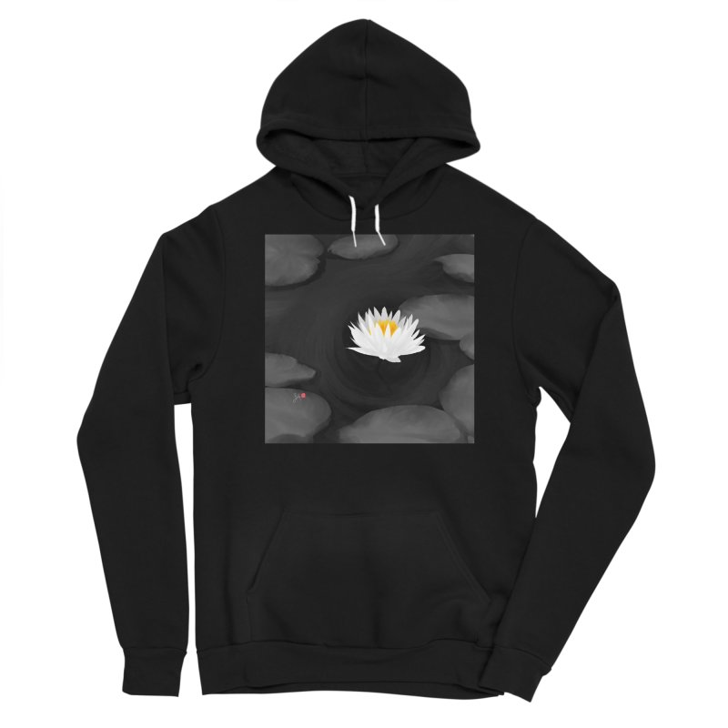 Lotus Men's Sponge Fleece Pullover Hoody by Designs by Billy Wan