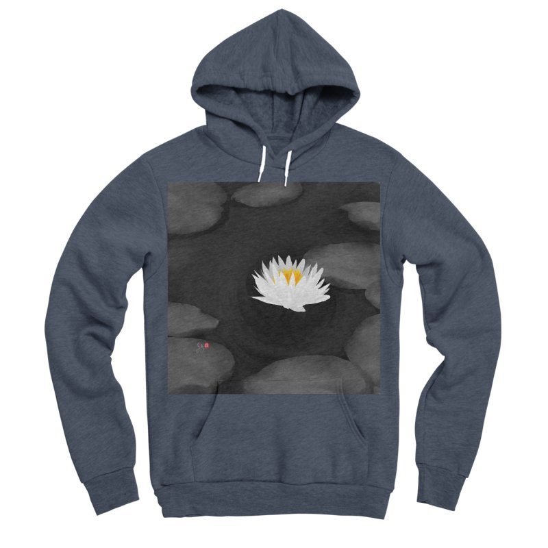 Lotus Women's Sponge Fleece Pullover Hoody by Designs by Billy Wan